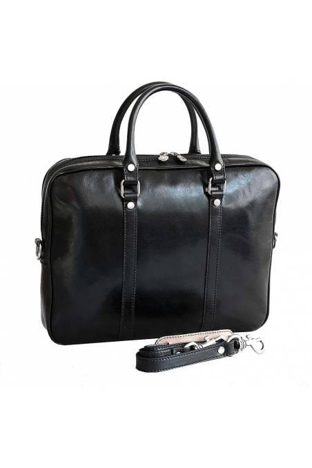 Geanta dama laptop, geanta office, piele naturala, coniac, gentidebarbati.ro, S142A